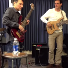 W John Patitucci and Steve Bailey