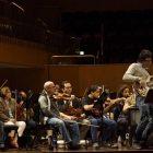 Ensayo con la Orquesta Sinfónica de Puerto Rico